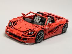 LEGO Porsche Carrera GT by fanylover | Eurobricks
