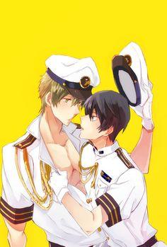 Free! ~~ Makoto and Haruka