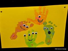 little learners lounge: Monster Math