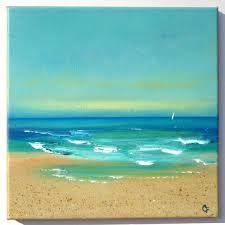 Bildergebnis für acrylic paint BEACH