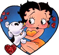 Betty Boop e o cãozinho BIMBO