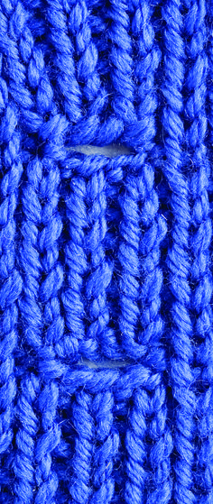 Kara's Quick-Knit Tip: Buttonholes Nice & Neat - Creative Knitting BlogCreative Knitting Blog