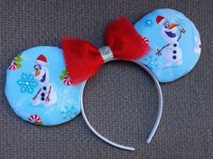 Olaf Mouse Ears by GwizzyEars on Etsy