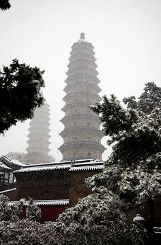 Twin Pagoda Temple Taiyuan,China