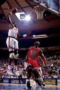 Ewing Soars, '91 Playoffs.