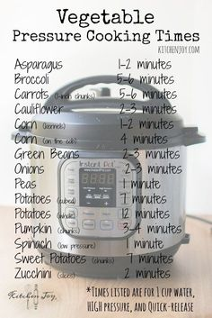Pressure Cooker Basics Part Everyday Uses – Kitchen Joy Pressure Cooker Basics Part Everyday Uses – Kitchen Joy,Slow Cooker Recipes Pressure Cooker Vegetable Cooking Times – Kitchen Joy®️️ Related posts:Instant Pot Panera. Power Pressure Cooker, Pressure Pot, Electric Pressure Cooker, Instant Pot Pressure Cooker, Pressure Cooker Times, Instant Cooker, Canning Pressure Cooker, Do It Yourself Food, Pressure Cooking Recipes