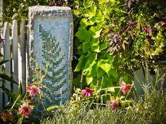 Custom Landscape Art - Fern Mosaic