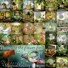 Fairies Of The Flower Field 4 XXL BUNDLE
