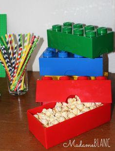 legoparty kindergeburtstag lego essen