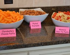Photo 10 of 16: Mickey Mouse Clubhouse or Minnie Mouse / more food ideas