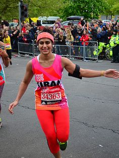 Woman Runs London Marathon Without a Tampon, Bleeds Freely to Raise Awareness http://www.people.com/article/kiran-ghandi-runs-marathon-without-tampon-bleeds-freely