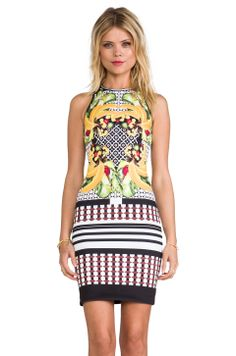 Clover Canyon Banana Scarf Dress in Multi from REVOLVEclothing