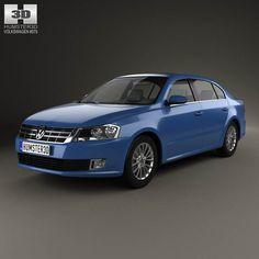 Volkswagen Lavida 2012 3d model from humster3d.com. Price: $75