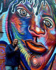 Atlanta American artist mural paintings - http://coreybarksdale.com/original_pts/2015/african-american-artist/