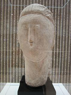 Amadeo Modigliani 'Head'