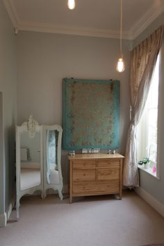 Antique French Silk Printing Screen Turned In To A Light Tunbridge WellsFrench