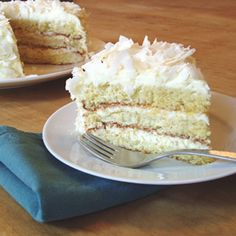 Gluten-Free Coconut Layer Cake recipe | Epicurious.com