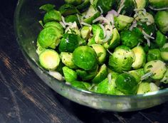 Mmmmm..... Brussels sprouts! It's the right time of year for these miniature cabbages, so cute and sweet. What? You don't like Brussels sprouts? If you don't like them, maybe you just haven't had them prepared the right way. Here are five ways we love them.