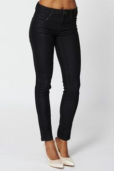 Classic Black Skinny Jeans - Passions69