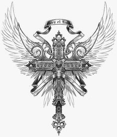 Tattoos Discover Knight Templar 1776 stock is the best selections of Templar related products for sale in the US. Family Tattoos New Tattoos Body Art Tattoos Hand Tattoos Sleeve Tattoos Tattoos For Guys P Tattoo Tattoo Hals Tattoo Drawings Cross Tattoo For Men, Cross Tattoo Designs, Tattoo Sleeve Designs, Tattoo Designs Men, Sleeve Tattoos, Cross With Wings Tattoo, Spine Tattoo For Men, P Tattoo, Back Tattoo