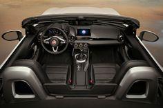 Fiat 2017 Spider 124 Interior