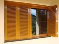 janela persiana de madeira - Pesquisa Google