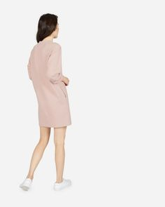 The Classic French Terry Crew Neck Dress - Everlane