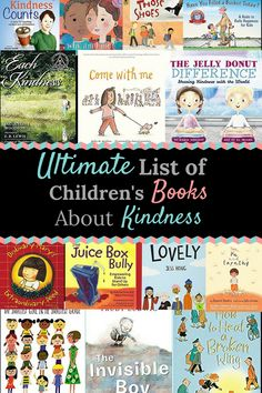 27 Children's Books to Teach Kindness Look for Little Helpers is part of Toddler books - Looking for ways to teach your children kindness These 25 books are musthaves for your library to encourage compassion, gratitude, empathy and kindness Best Children Books, Childrens Books, Toddler Books, Character Education, Kids Education, Books About Kindness, Teaching Kindness, Preschool Books, Montessori Books