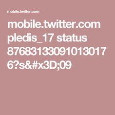 mobile.twitter.com pledis_17 status 876831330910130176?s=09