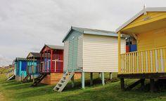 Whitstable Beach Huts, England, photo by Iain Read