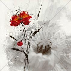 Petite aventure fleurie I - Bilder auf Leinwand - Photowall