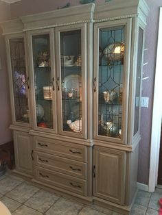 New Keller Furniture China Cabinet