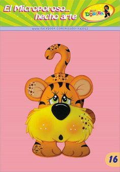 Miss Dorita Kids Punch, Diy And Crafts, Paper Crafts, Felt Patterns, Bible Crafts, Felt Toys, Paper Piecing, Holidays And Events, Tigger