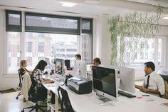 Office design workspace imac