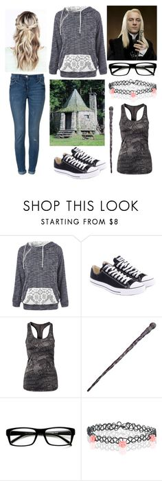 """""""Hagrid is being sent to Azkaban!!"""" by moon-and-back-babe123 ❤ liked on Polyvore featuring Converse, NIKE and Accessorize"""