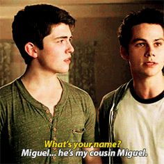 Cousin Miguel!!
