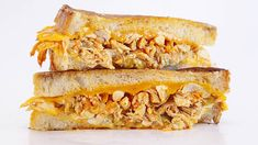 Three different cheeses take these chicken sammies over the top!
