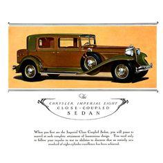 1931 Chrysler Imperial Eight Close-Coupled Sedan