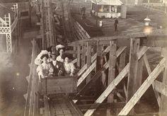 A roller-coaster around 1900