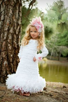 Haute Couture Flower Girl....