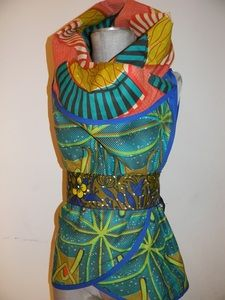My new Royal Wrap by Hakima for Harriets Alter Ego