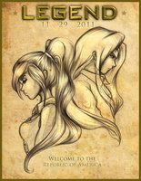 LEGEND: Day and June by mree