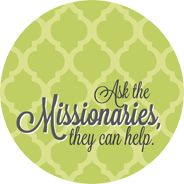 Ask the Missionaries - Green button