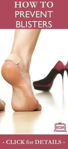 Learn what causes blisters, how to treat them, and some great tips on how to prevent them from Dr. Oz. http://www.recapo.com/dr-oz/dr-oz-advice/dr-oz-how-to-prevent-blisters-abby-lee-miller-dance-moms/