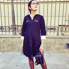ALISIA ENCO WOMAN. Shirt dress made by ALISIA ENCO