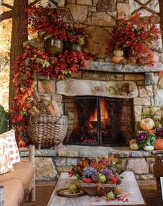Great Idea for fall from Southern Living