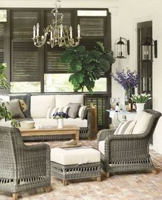 Wicker Furniture For Indoors & Outdoors | ComfyDwelling.com #PinoftheDay #wicker #furniture #ideas #indoors #outdoors