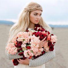 long braided hairstyles for a boho wedding with flower crown Long Braided Hairstyles, Wedding Hairstyles, Boho Bride, Boho Wedding, Wedding Shoot, Wedding Gifts, Wedding Venues, Wedding Day Makeup, Top Wedding Photographers
