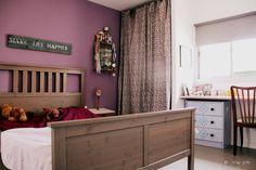 Teen bedroom in vintage style