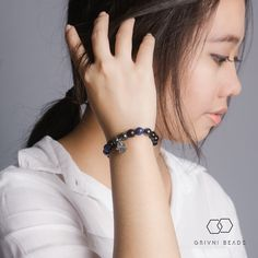 INDIGO Bracelet | Designed by Grivni Beads | Price and more please contact our CS LINE ID : grivnibeads; BBM : 2B75A78B; Instagram : @grivnibeads